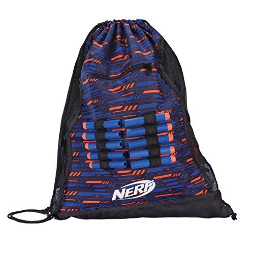 Nerf Elite Turnbeutel 11513 Sportbeutel im stylischen Nerf Elite Design mit robusten Zugbänder & stabile Ösen für einen perfekten Halt