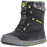 Merrell ml-b Snow Bank 2.0 Waterpoof, Chaussures de Randonnée Hautes Garçon, Gris...
