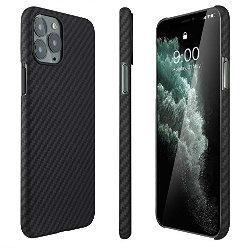 AIMOSIO Compatible with iPhone 11 Pro Case,5.8'' Slim 3D-Grip Aramid Fiber Minimalist Phone...