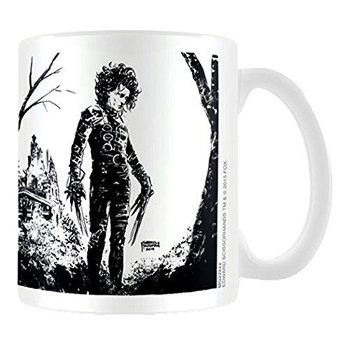 Edward Scissorhands Noir Ink Coffee Mug, Multicolore, 11oz/315ml