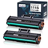 OfficeWorld Compatible 111S Toner Cartridge Replacement for Samsung 111S 111L MLT-D111S MLT-D111L (Black, 2 Packs), Compatible with Samsung Xpress SL-M2020W SL-M2020 SL-2022FW SL-2070FW SL-2070W