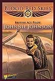 Blood Red Skies British Ace Pilot Johnnie Johnson 1:200 Spitfire WWII Mass Air Combat War Game