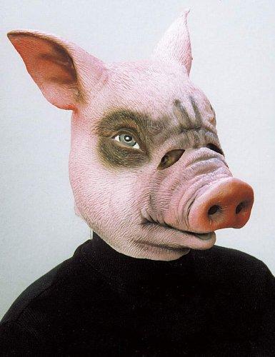 Faschings Maske Schwein