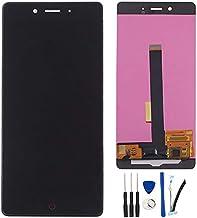 SOMEFUN Pantalla Táctil LCD de Digitalización Asamblea Pantalla de Recambio para ZTE Nubia Z11 Nx531J Negro