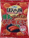 ぼんち ぼんち揚辛子明太子味 65g ×20箱