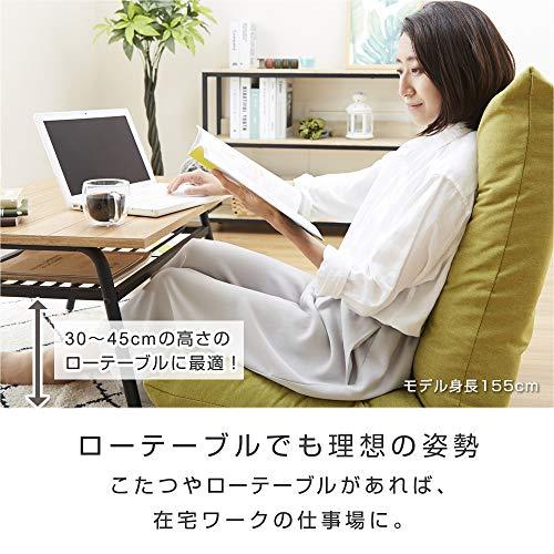 ドウシシャテレワーク3Dクッション高品質ウレタン座椅子疲れにくいあぐらざいすブラウンAKDZ-BR