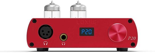 LOXJIE P20 Full Balance Tube Amplifier Headphone Power Amplifier (Red)