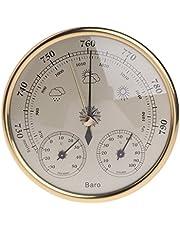 Barómetro para colgar en la pared, termómetro higrómetro, estación meteorológica