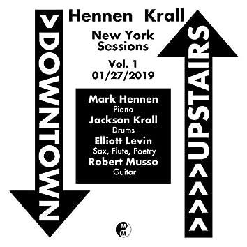Hennen Krall New York Sessions, Vol. 1: 1/27/2019