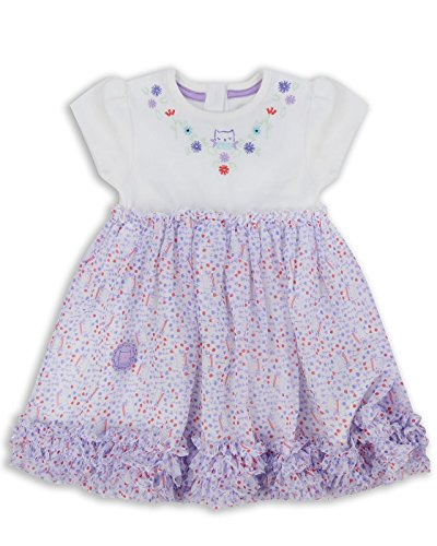 The Essential One - Bebé Infantil Niñas - Vestido - 2-3 Años - Púrpura - EOT314