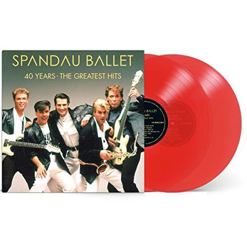 Spandau Ballet - 40 Years. The Greatest Hits (2 Lp) [Vinilo]