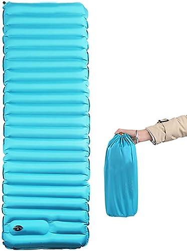 ZHILIAN Coussin Gonflable en Plein Air Tente Matelas Matelas Camping Plage Couchage Tapis Tapis Bureau Lit Sieste Air