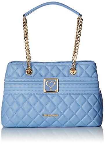 Love Moschino - Moschino, Bolsos totes Mujer, Blau (Avio), 4x21x31 cm (B...