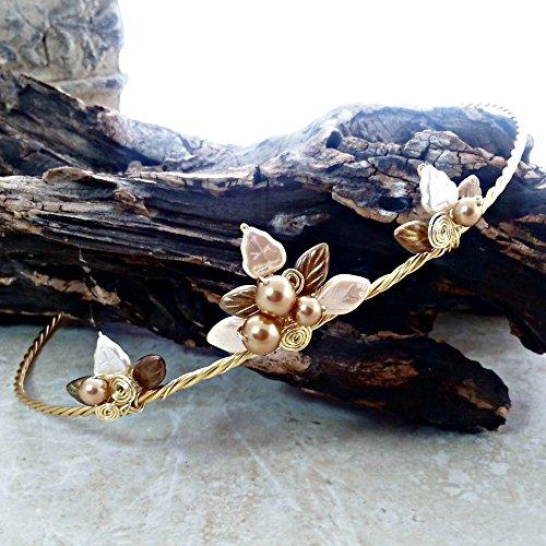 Golden Slumbers Gold Princess Tiara Wedding Halo