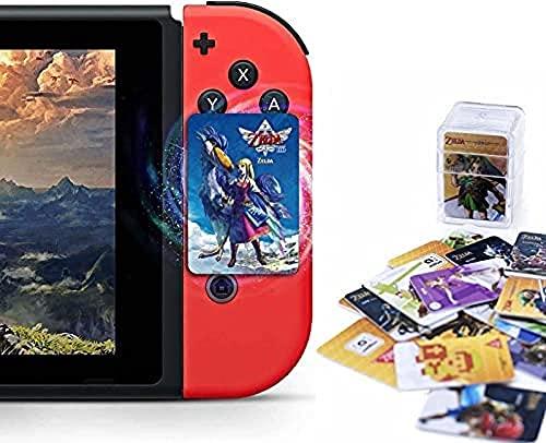 MRZJ Tarjetas NFC Amiibo para The Legend of Zelda: Skyward Sword, Incluye Zelda & Loftwing, Compatible con Switch/Lite Wii U (tamaño Mini, 25 Unidades)