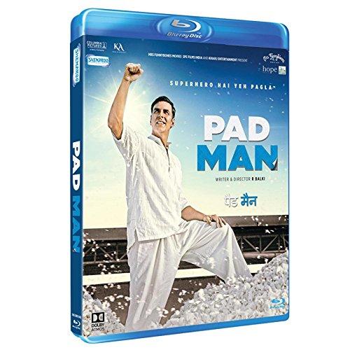 Pad Man (Beand New Single Disc Bluray, Hindi Language, With English Subtitles, Releaed By Shemaroo)