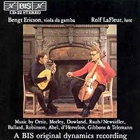 Music For Viola Da Gamba And L by ABEL CARL FRIEDRICH / BALLARD (1994-01-04)