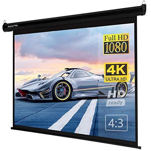 DAWOO Projektionsbildschirm,tragbare Projektor -Leinwand ist für Heimkino Outdoor -Innenkino -Büro geeignet