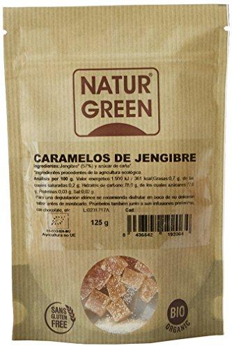 NaturGreen Caramelos de Jengibre - 125 g