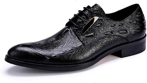 FLYSXP zapatos de hombre zapatos de boda de moda casual bajo para ayudar a los zapatos puntiagudos cocodrilo masculino, zapatos de vestir de PU, para hombres, 37-44 yardas botas de cuero de los hombre