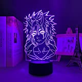 3D ilusión luz led noche anime figura iluminación lámpara que tiempo me reencarnado como un limo ben...