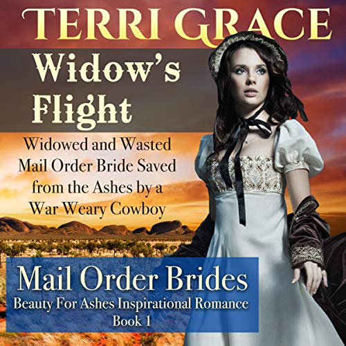 Widow's Flight audiobook cover art