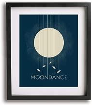 Moondance by Van Morrison inspired song lyric art print