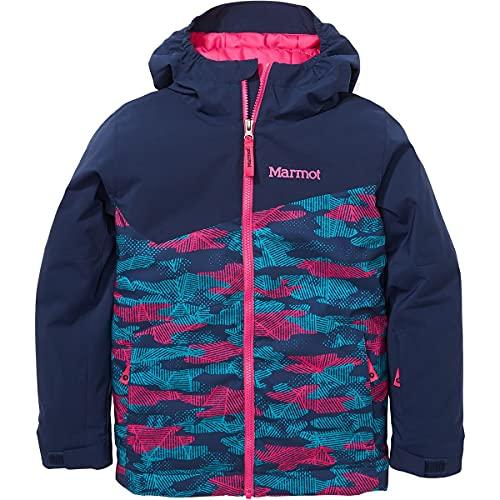 Marmot Chaqueta infantil unisex Tasman, Unisex niños, Chaqueta, 34520, Arctic Navy Haze - Mochila con diseño de camuflaje, color azul marino, small