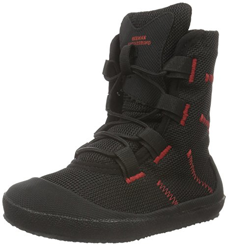Sole Runner Unisex-Kinder Transition Vario 2 Kids Chukka Boots, Schwarz (Black/red 05), 30 EU