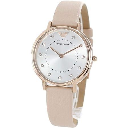 [エンポリオアルマーニ]EMPORIO ARMANI レディース 女性用 KAPPA ピンクベージュ レザー AR2510 腕時計 [並行輸入品]