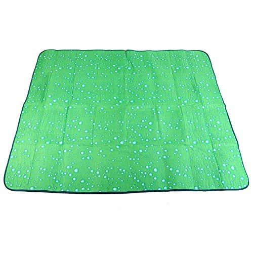 DHYED Gran manta impermeable al aire libre, manta portátil al aire libre, 180 x 150 cm, alfombrilla portátil a prueba de humedad de tres capas, utilizada para acampar al aire libre y picnic