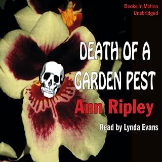 Death of a Garden Pest audiobook cover art