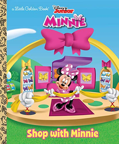 minnie mouse books for a 4 year olds Shop with Minnie (Disney Junior: Mickey Mouse Clubhouse) (Little Golden Book)