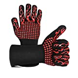 Best Barbecue Gloves - BBQ Gloves Grilling Gloves Extreme Heat Resistant High Review