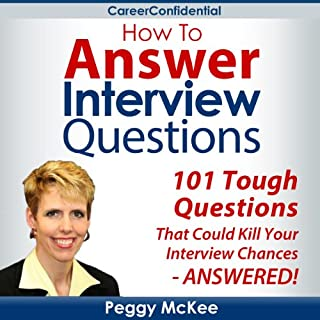 How to Answer Interview Questions audiobook cover art