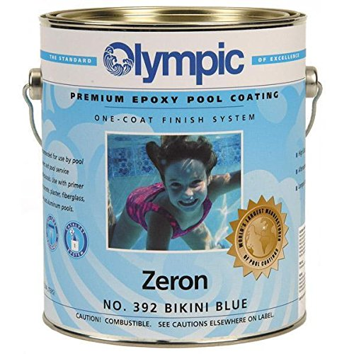 Kelley Technical 392GL Olympic Zeron One Coat Epoxy Pool Coating - Bikini Blue