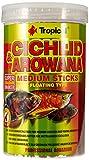 Tropical Cichlid & Arowana Medium Sticks - Palitos de alimentación con astaxantina (1 x 1 l)