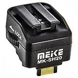 Impulsfoto Meike MK-SH20 - Adaptador para zapata de flash Sony Alpha a Sony NEX 3 NEX 5