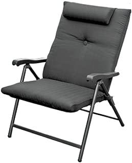 Prime Products 13-3378 Baja Black Prime Plus Folding Chair