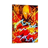 VGFD One Punch Superman Anime Comic Art 4K HD HD Poster