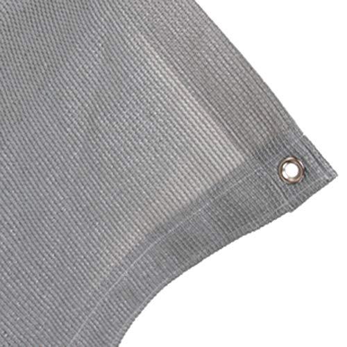Summer Shading Net, 2m breed hek scherm tuin schaduw doek, 90% schaduw gaas Tarp grijs 2m x 6m