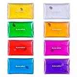 [page_title]-Taschenwärmer 8er Set Multicolor - Rechteck Matte - Handwärmer Heizpad Wärmepad Firebag