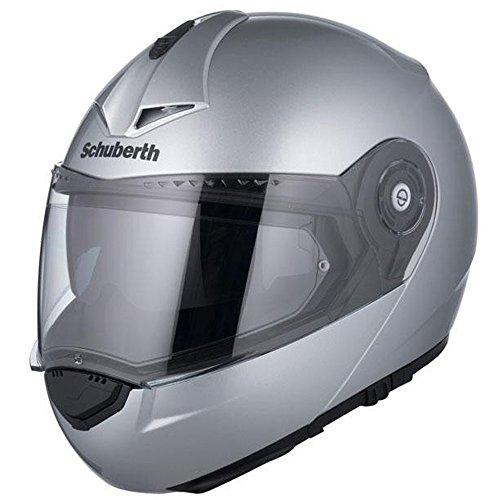 Schuberth C3 Pro Silber Motorrad Helm