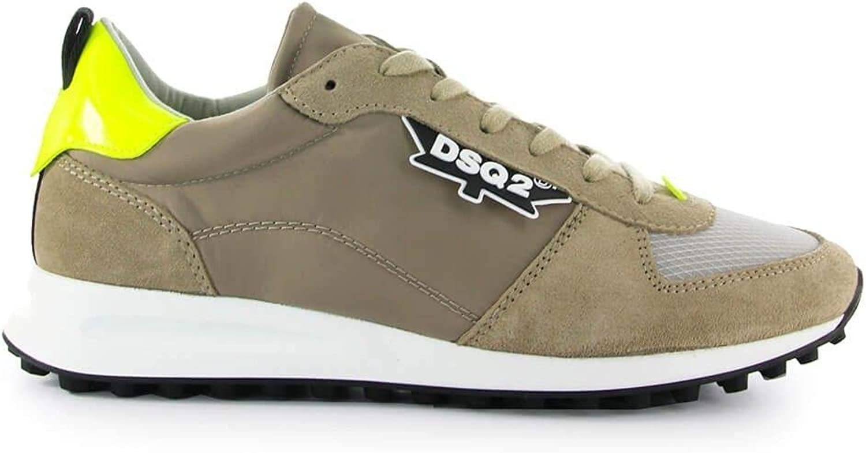 DSQUARED2 Herren Herren Herren SNM011016801758M137 Grün Polyester Sneakers B07PB32NZH  226bd8