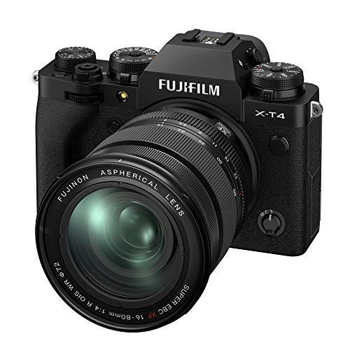 FUJIFILM ミラーレス一眼カメラ X-T4レンズキット ブラック X-T4LK-1680-B