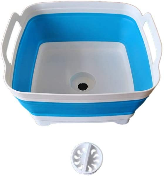 Sdywsllye Dishwashing Collapsible Washbasin with Drain Outlet SALE Kitchen Limited Special Price