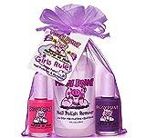 Piggy Paint - Juego de 3 esmaltes de uñas para niñas