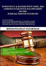 LIMITED INSOLVENCY EXAMINATION OF IBBI JUDICIAL PRONOUNCEMENTS RUKMANGADHAN JANAKIRAM 9789384337025 Power Publication power publisher