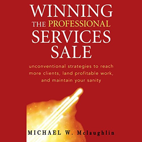 Winning the Professional Services Sale cover art