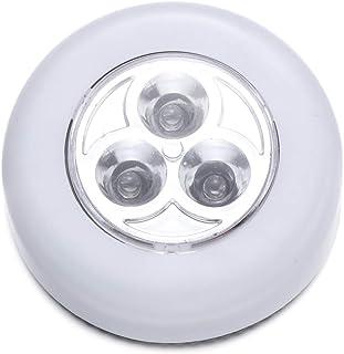 Uonlytech Bewegingssensor lichten draadloze kastverlichting op batterijen werkend nachtlampje plakken overal verlichting v...